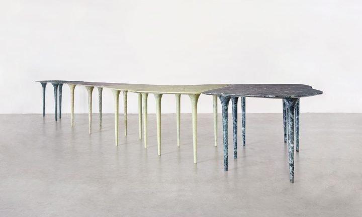 Garda table, Laghi collection
