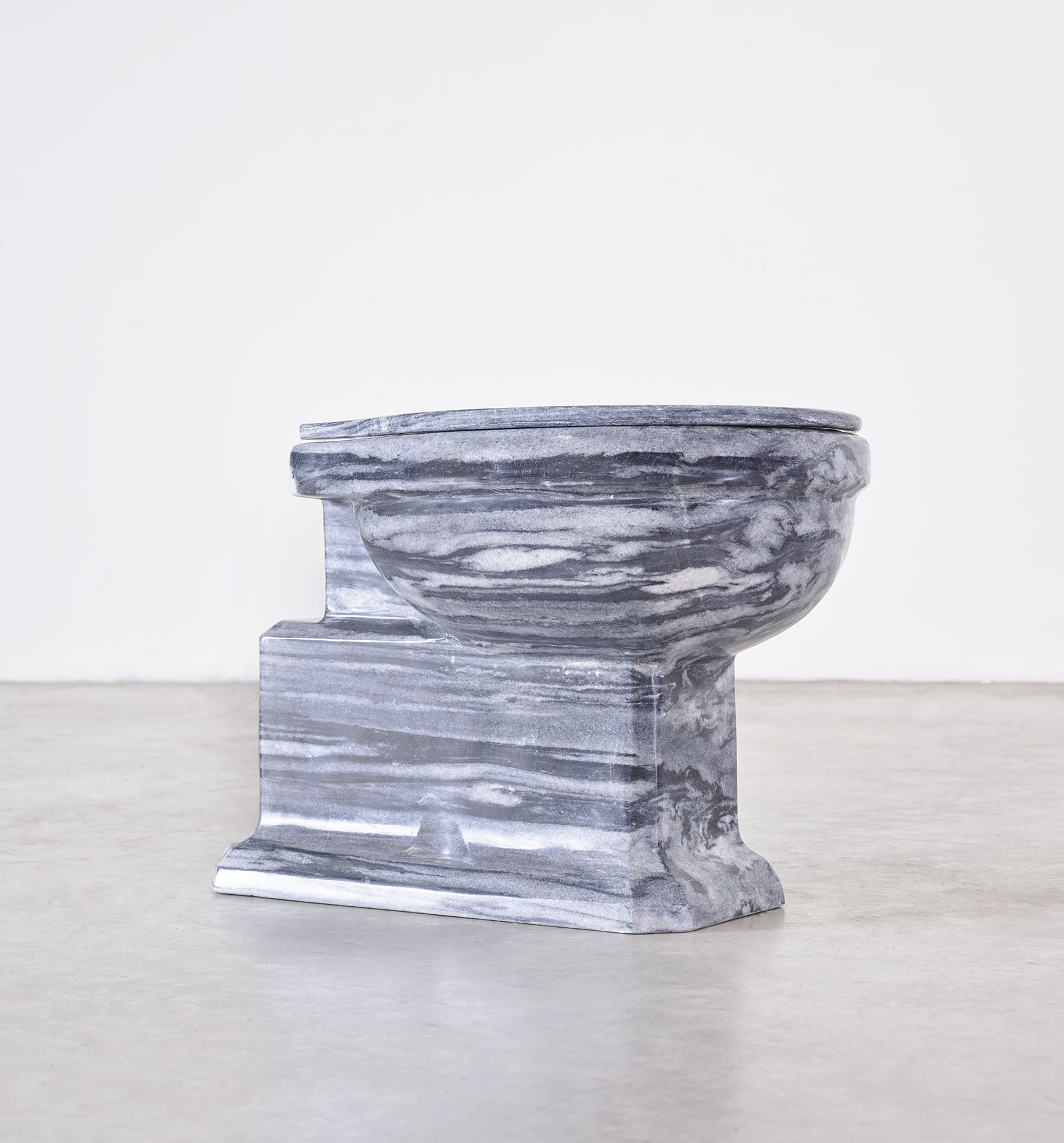 Marble water closet