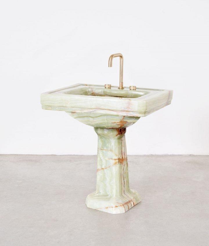 Marble handbasin